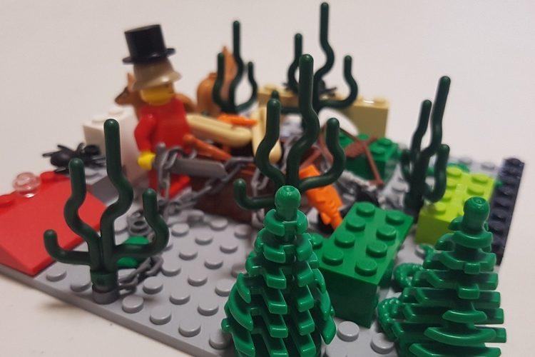 TALLER INFANTIL 'CONSTRUYE FIGURAS ROBÓTICAS CON LEGO'