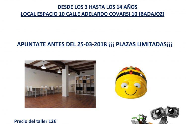 Taller Let`s Go Badajoz 27 de Marzo